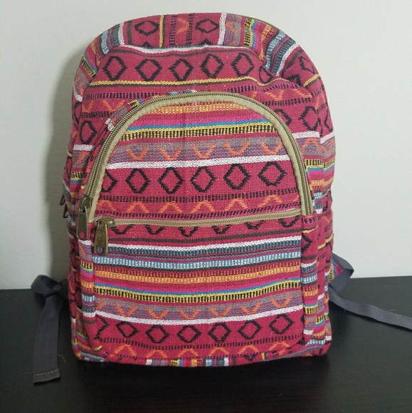 Bags   Brand New Cotton Handmade Boho Chic Backpack   Poshmark 23391d5e5c